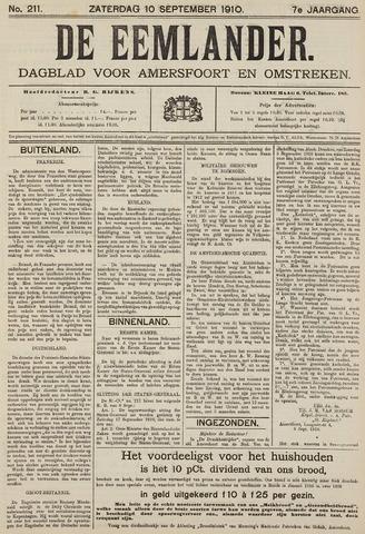 De Eemlander 1910-09-10