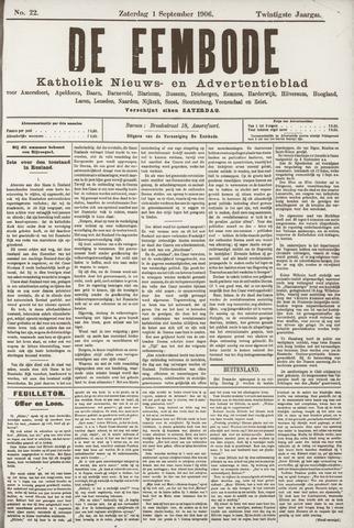 De Eembode 1906-09-01