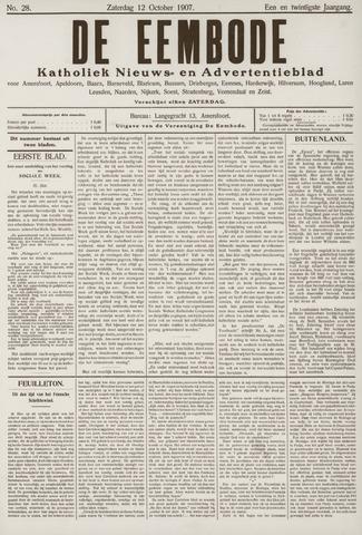 De Eembode 1907-10-12