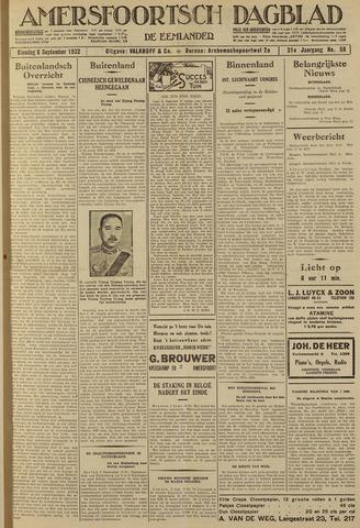 Amersfoortsch Dagblad / De Eemlander 1932-09-06