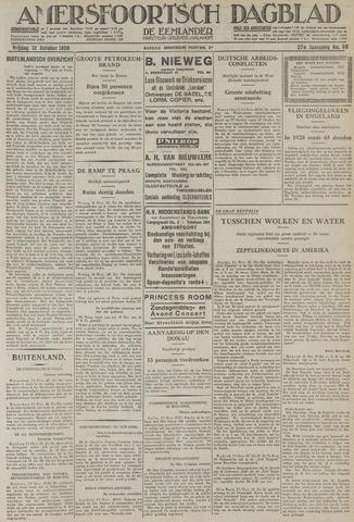 Amersfoortsch Dagblad / De Eemlander 1928-10-12