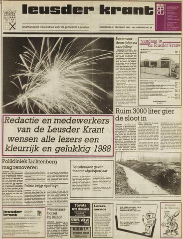 Leusder Krant 1987-12-31