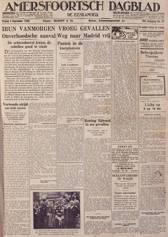 Amersfoortsch Dagblad / De Eemlander 1936-09-04