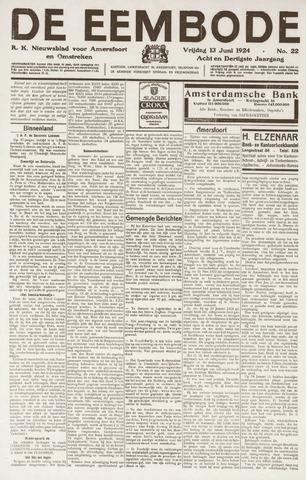 De Eembode 1924-06-13