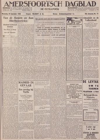 Amersfoortsch Dagblad / De Eemlander 1936-09-30