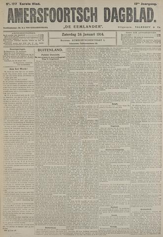Amersfoortsch Dagblad / De Eemlander 1914-01-24