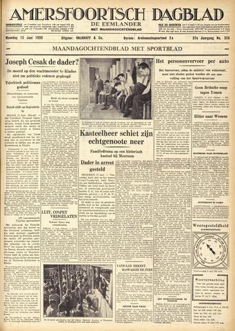 Amersfoortsch Dagblad / De Eemlander 1939-06-12