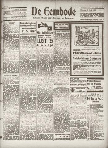 De Eembode 1933-04-18