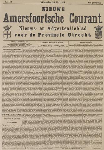 Nieuwe Amersfoortsche Courant 1913-05-28