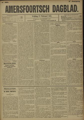 Amersfoortsch Dagblad 1911-02-17