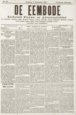 De Eembode 1906-09-15