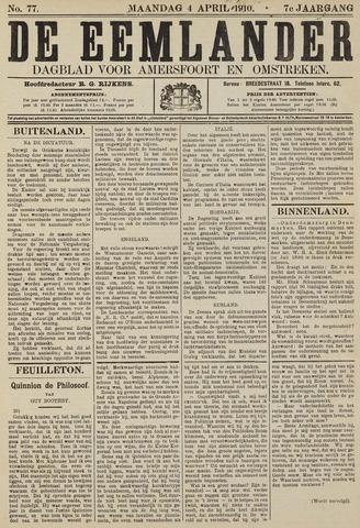 De Eemlander 1910-04-04