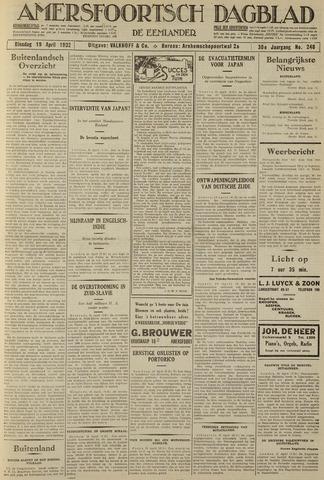 Amersfoortsch Dagblad / De Eemlander 1932-04-19
