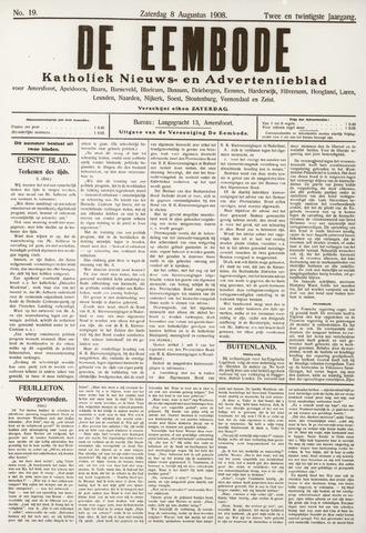 De Eembode 1908-08-08