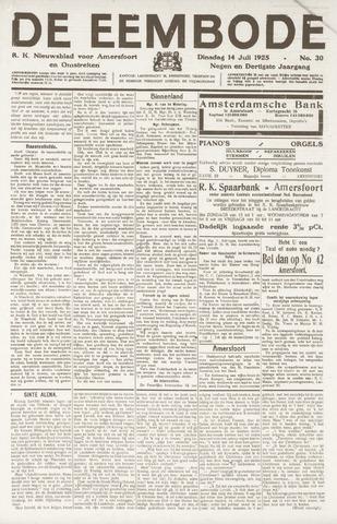 De Eembode 1925-07-14