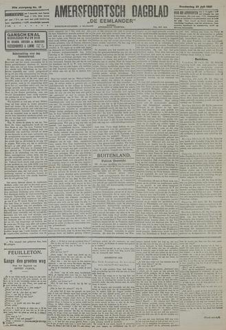 Amersfoortsch Dagblad / De Eemlander 1921-07-21