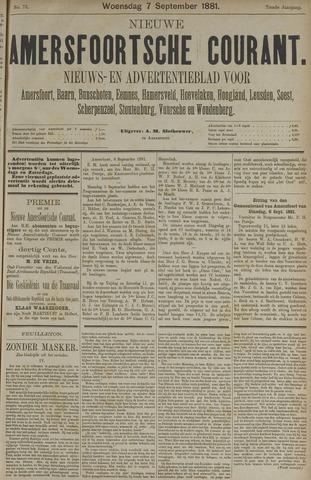 Nieuwe Amersfoortsche Courant 1881-09-07