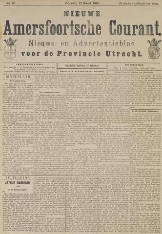 Nieuwe Amersfoortsche Courant 1898-03-12