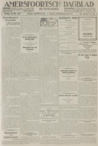 Amersfoortsch Dagblad / De Eemlander 1931-05-19