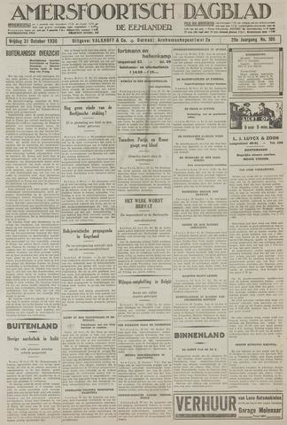 Amersfoortsch Dagblad / De Eemlander 1930-10-31