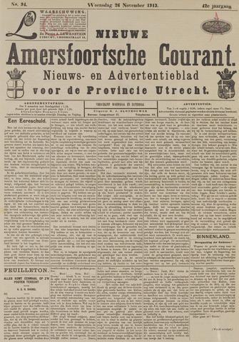 Nieuwe Amersfoortsche Courant 1913-11-26