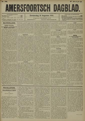 Amersfoortsch Dagblad 1910-08-18