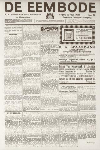 De Eembode 1923-10-12