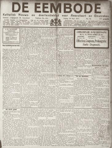 De Eembode 1917-09-28