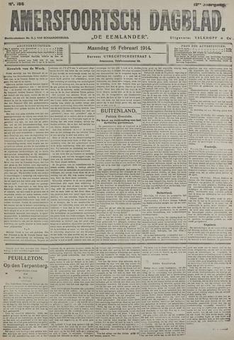 Amersfoortsch Dagblad / De Eemlander 1914-02-16