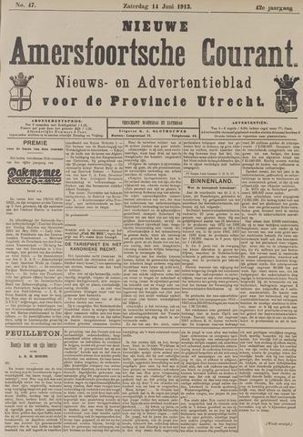 Nieuwe Amersfoortsche Courant 1913-06-14