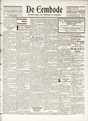 De Eembode 1934-05-29