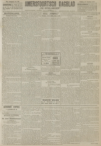 Amersfoortsch Dagblad / De Eemlander 1922-10-27