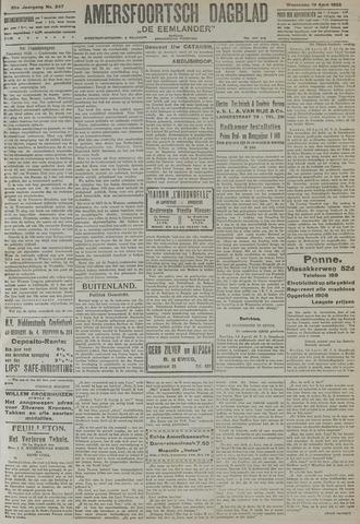 Amersfoortsch Dagblad / De Eemlander 1922-04-19