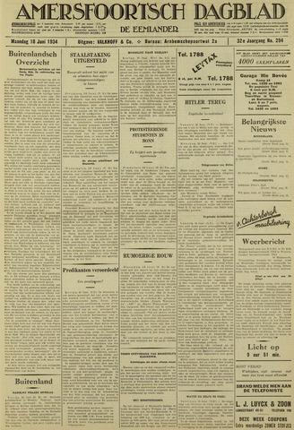 Amersfoortsch Dagblad / De Eemlander 1934-06-18