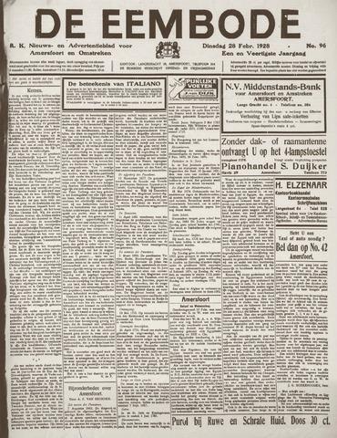 De Eembode 1928-02-28