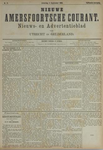 Nieuwe Amersfoortsche Courant 1886-09-04