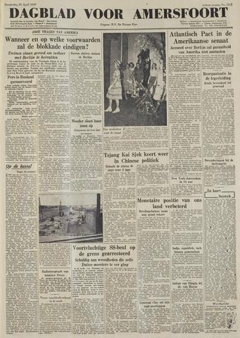 Dagblad voor Amersfoort 1949-04-28