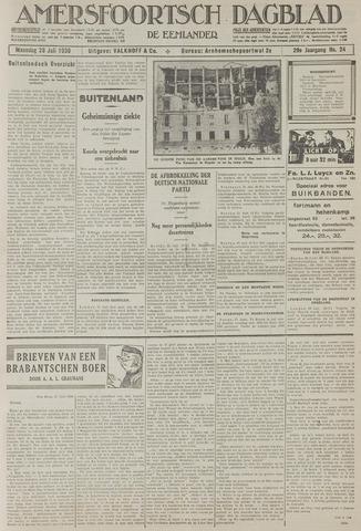 Amersfoortsch Dagblad / De Eemlander 1930-07-28