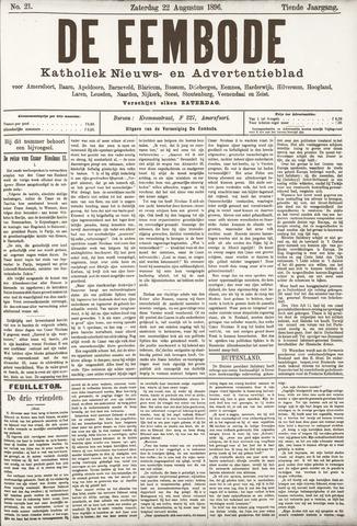 De Eembode 1896-08-22