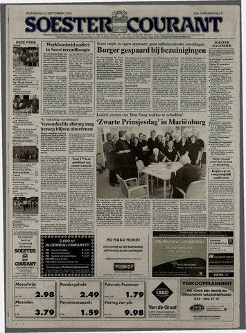 Soester Courant 2004-09-22