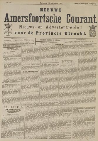 Nieuwe Amersfoortsche Courant 1903-08-15