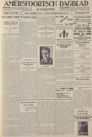 Amersfoortsch Dagblad / De Eemlander 1934-06-26
