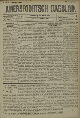 Amersfoortsch Dagblad 1908-03-26