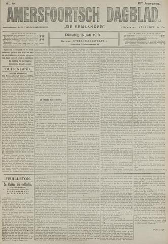 Amersfoortsch Dagblad / De Eemlander 1913-07-15