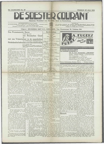 Soester Courant 1934-07-20