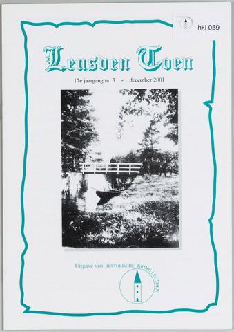 Historische Kring Leusden 2001-12-01