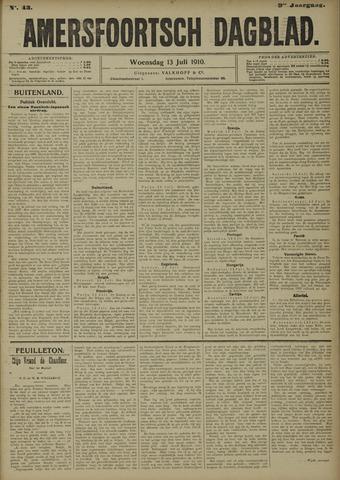 Amersfoortsch Dagblad 1910-07-13