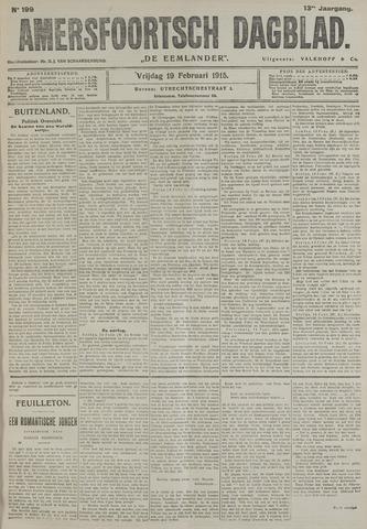 Amersfoortsch Dagblad / De Eemlander 1915-02-19