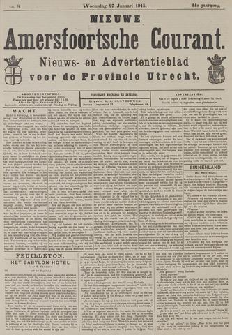 Nieuwe Amersfoortsche Courant 1915-01-27