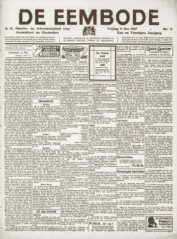 De Eembode 1927-05-06